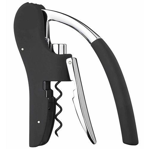 BarCraft Lever-Arm Arc Corkscrew With Integral Foil Cutter