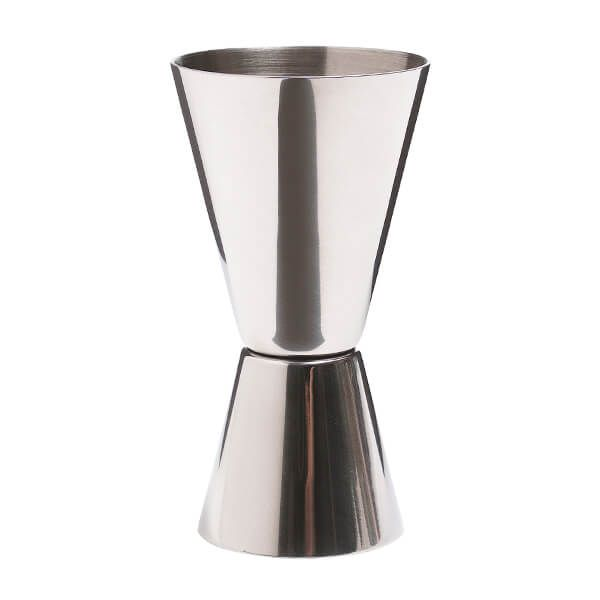 BarCraft Stainless Steel Dual Measure Spirit Measure Cup (Jig)