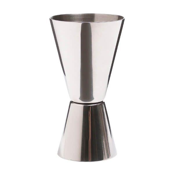 BarCraft Stainless Steel Dual Measure Spirit Measure Cup (Jig)