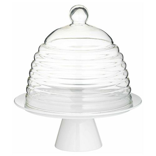 Sweetly Does It 25cm Glass Dome Cake Stand
