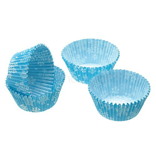 Sweetly Does It Pack of Sixty Snowflake Cupcake Cases
