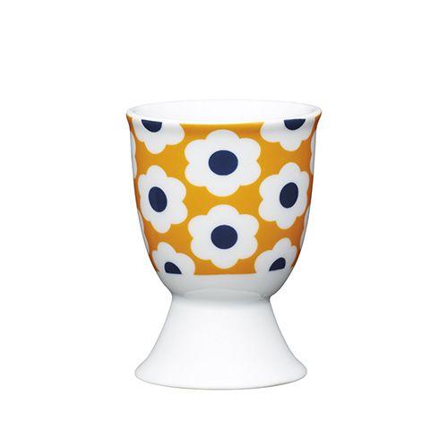KitchenCraft Retro Egg Porcelain Egg Cup