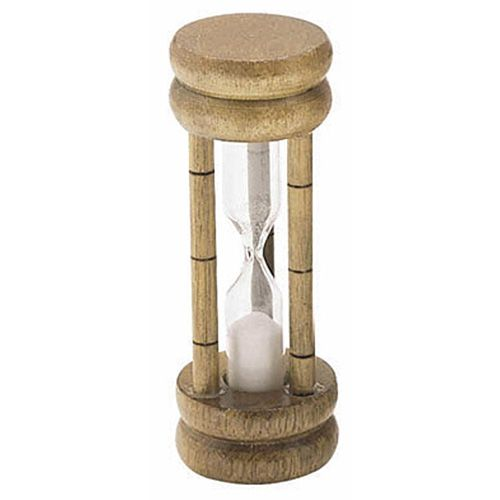 KitchenCraft Traditional Three Minute Sand Egg Timer