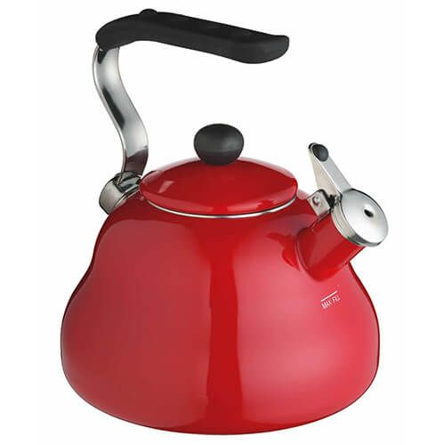 Le-Xpress 2 Litre Red Whistling Kettle