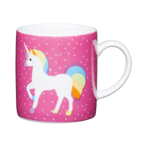 Kitchen Craft Unicorn Porcelain Espresso Mug