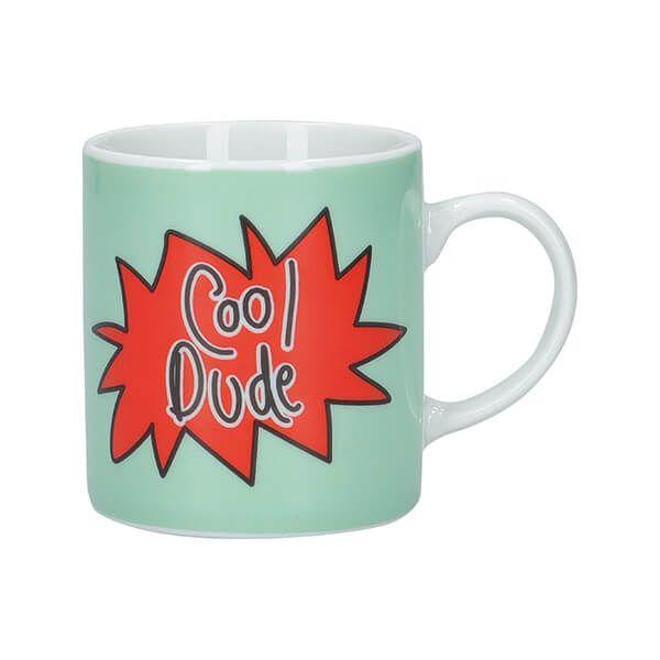 KitchenCraft Cool Dude Porcelain Espresso Cup