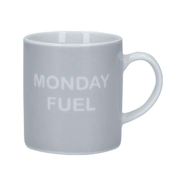 KitchenCraft Monday Fuel Porcelain Espresso Cup