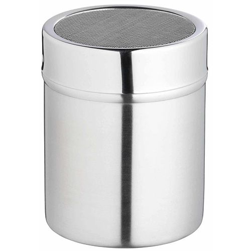 KitchenCraft Stainless Steel Fine Mesh Shaker and Lid 9cm