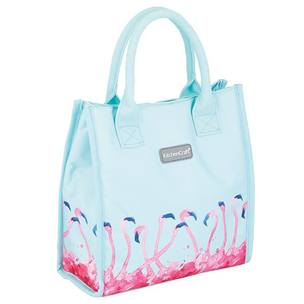 KitchenCraft 4L Flamingo Lunch And Snack Cool Bag