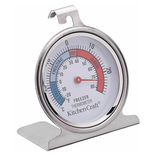 KitchenCraft Stainless Steel Fridge Thermometer 7.5cm