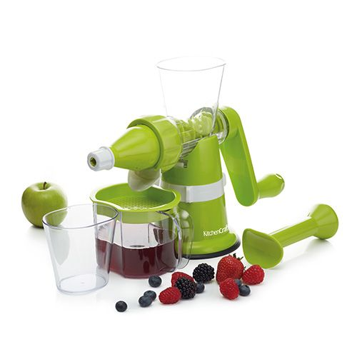 KitchenCraft Healthy Eating Manual Juicer