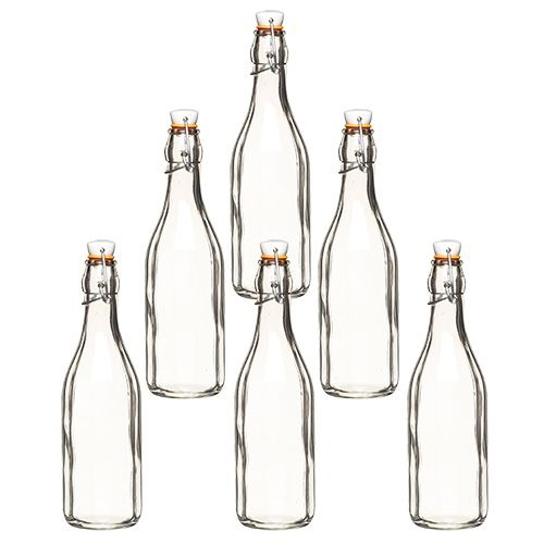 Home Made 500ml Cordial Bottle Set Of 6