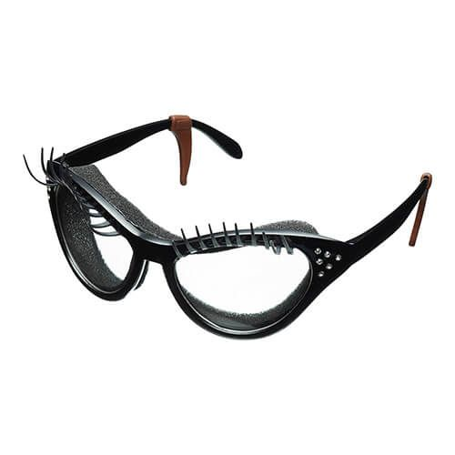 Fred Black Kitchen Diva Eyelash Onion Glasses