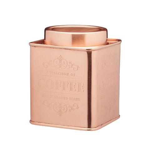 Le Xpress Copper Coffee Storage Tin