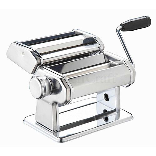 World of Flavours Italian Deluxe Double Cutter Pasta Machine