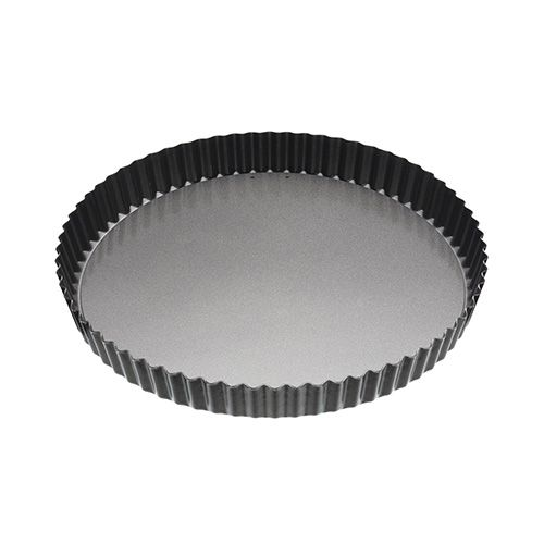 Master Class Non-Stick Fluted Loose Base Quiche Tin Round 28cm (11
