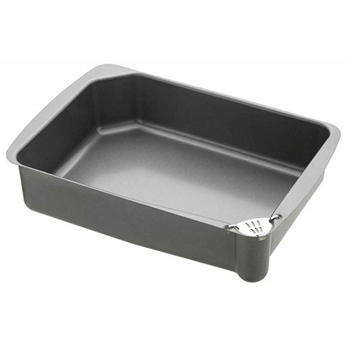 Master Class Non-Stick Roasting Pan with Pouring Lip 34 x 23 x 8cm