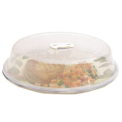KitchenCraft Microwave 26cm Plate Cover and Air Vent