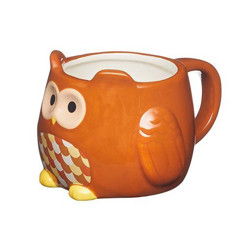 KitchenCraft Owl Shaped Mug 450ml