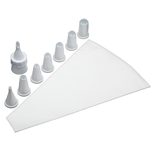 Sweetly Does It Plastic Piping Set With Eight Nozzles