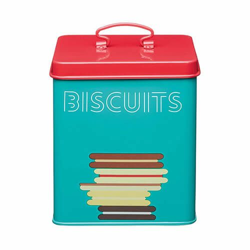 KitchenCraft Bright Printed Biscuit Canister