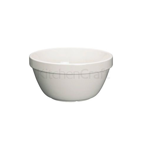 Home Made Stoneware 600ml Pudding Basin