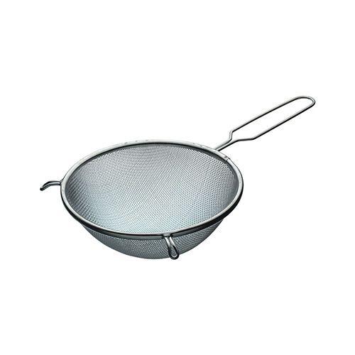 KitchenCraft Tinned Round Sieve with Wire Handle 18cm