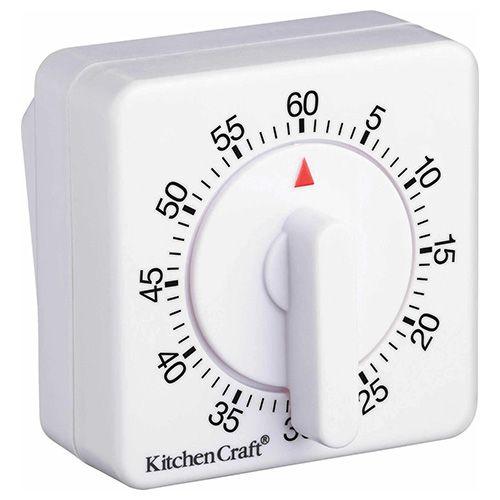 KitchenCraft Deluxe Half Round Wind-Up 60 Minute Timer