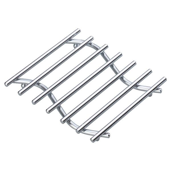 KitchenCraft Chrome Plated Small 20x17cm Deluxe Heavy Duty Trivet