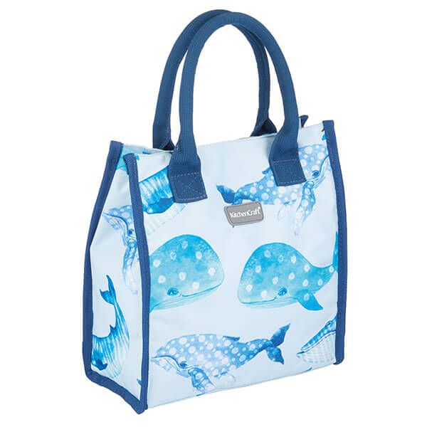 KitchenCraft 4L Whale Lunch And Snack Cool Bag
