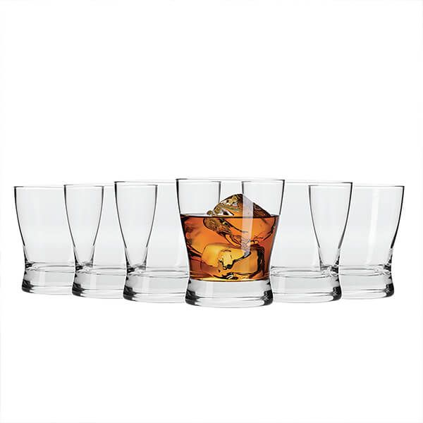 Maxwell & Williams Vino Set Of 6 300Ml Whisky Glasses Gift Boxed