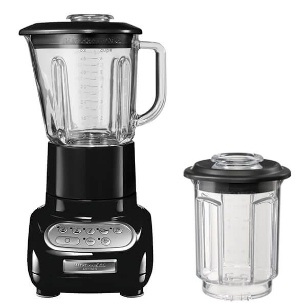 KitchenAid Artisan Onyx Black Blender with Culinary Jar and FREE Gift