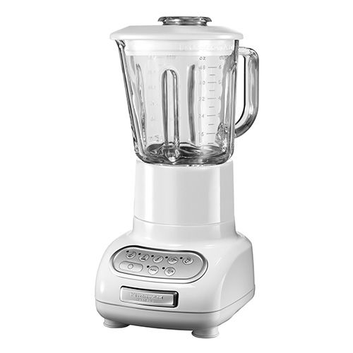KitchenAid Artisan White Blender with Culinary Jar