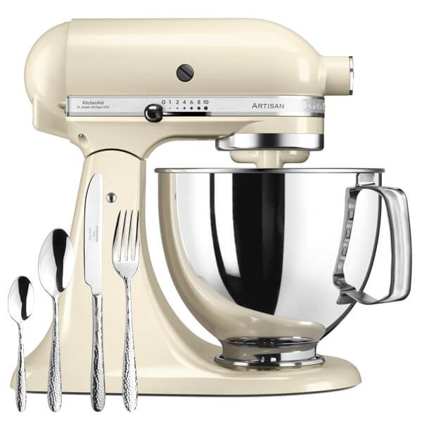 KitchenAid Artisan Mixer 175 Almond Cream With FREE Gift