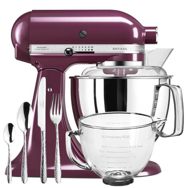 Kitchenaid Artisan Mixer 175 Boysenberry Ksm175psby