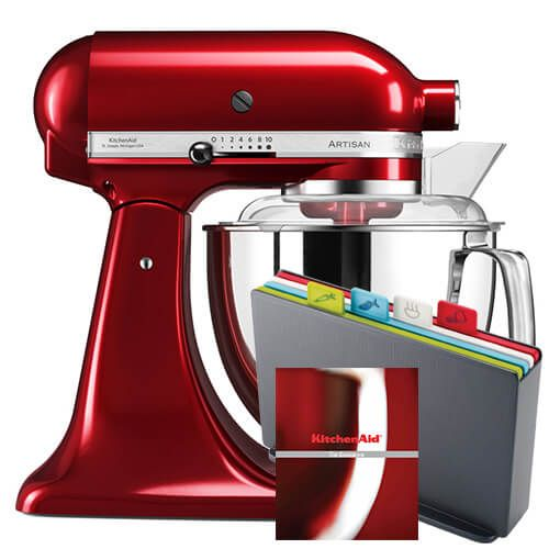 KitchenAid Artisan 175 Candy Apple Food Mixer With FREE Gifts