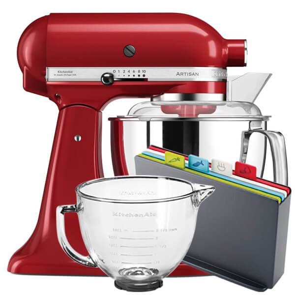 KitchenAid Artisan Mixer 175 Empire Red With FREE Gifts
