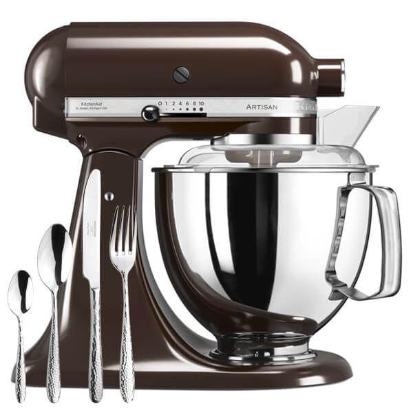 KitchenAid Artisan Mixer 175 Espresso With FREE Gift