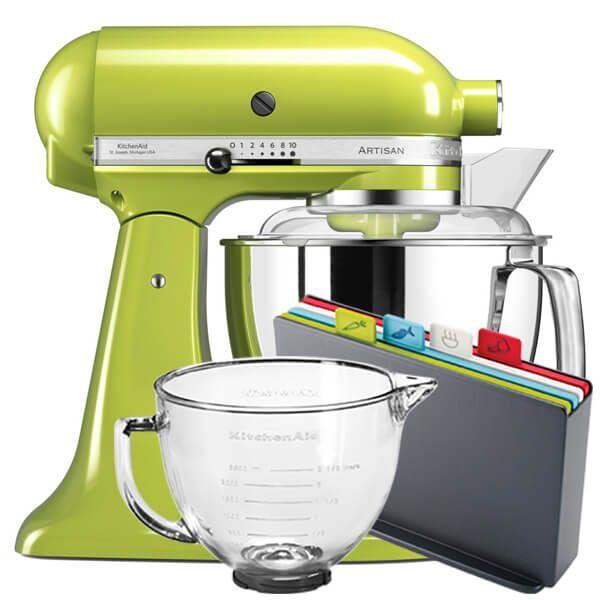 KitchenAid Artisan Mixer 175 Green Apple With FREE Gifts
