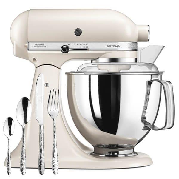 KitchenAid Artisan Mixer 175 Cafe Latte With FREE Gift