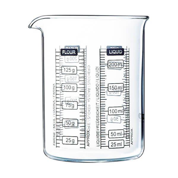 Pyrex Classic Kitchen Lab 0.25L Measure & Mix