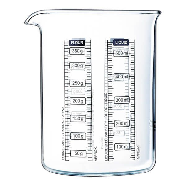 Pyrex Classic Kitchen Lab 0.5L Measure & Mix