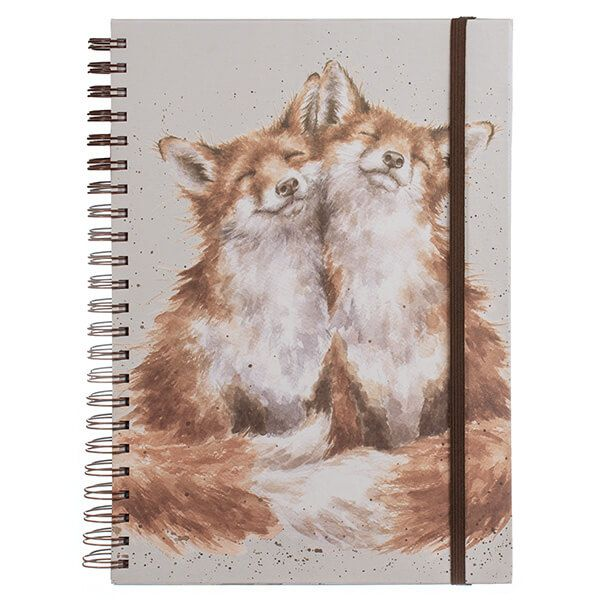 Wrendale Contentment Large A4 Notebook