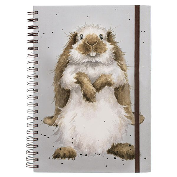 Wrendale Designs Earisistable A4 Spiral Bound Notebook