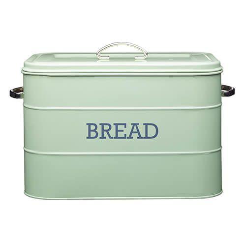 Living Nostalgia English Sage Green Bread Bin