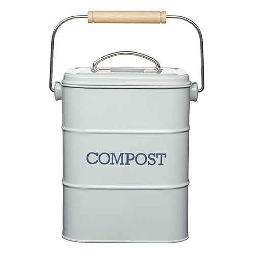 Living Nostalgia French Grey Compost Bin