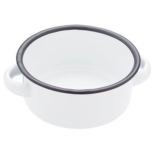 Living Nostalgia Enamel 18cm Serving Bowl