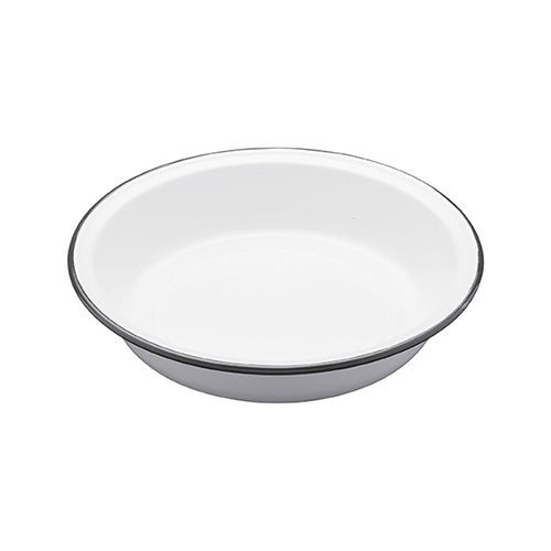 Living Nostalgia Enamel 22cm Round Pie Dish