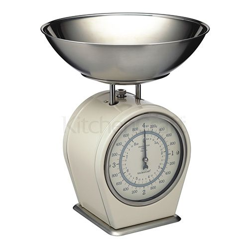 Living Nostalgia Antique Cream Mechanical Scales