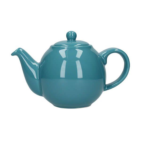 London Pottery Globe 2 Cup Teapot Aqua